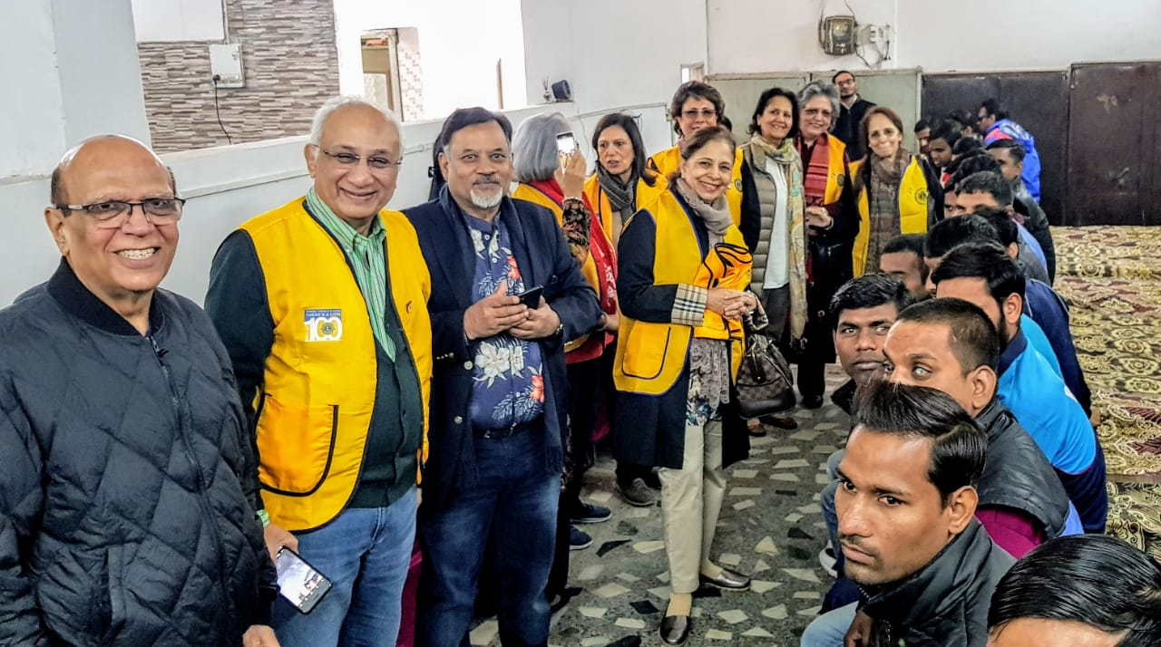 Lions Club pays a visit to Ujjala